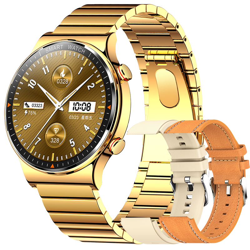 Permalink to Music Player Smart Watch Men Bluetooth Call Waterproof Sport Watch Fitness Smartwatch Download Music1G RAM for Android IOS phone