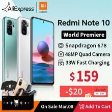 [Première mondiale] Version mondiale Xiaomi Redmi Note 10 Series Smartphone 108MP Caméra 120Hz