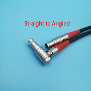 Image 4 - 4 Pin Maschio a 4 Pin Maschio Cavo Connettore per Arri Lbus Fiz Mdr Wireless Messa a Fuoco Filo Fgg a Fgg /Fgg per Fhg/Fhg per Fhg