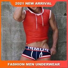 Underwear Mens Boxer Homme Cotton Men's Underpants Soft Men Boxer Shorts Men Underwear Boxers Male Underwear Penis Cuecas