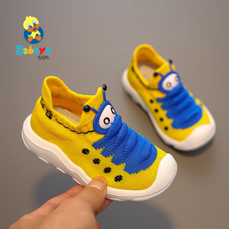 Girls Shoes Sneakers Soft-Bottom Toddler Autumn Boys Breathable New Mesh Children 1-3-Years-Old