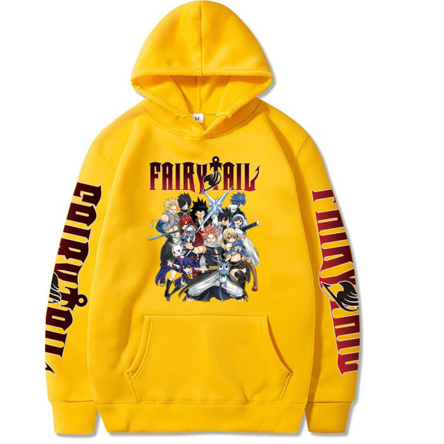 FAIRY TAIL THEMED HOODIE (6 VARIAN)