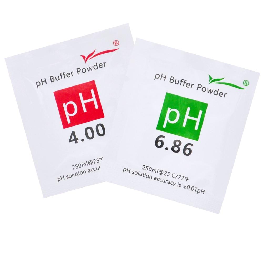 200 vnt PH buferio milteliai akvariumo PH matuokliui PH testo - Matavimo prietaisai - Nuotrauka 3