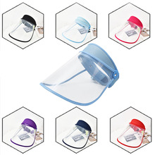 Helmet Face-Mask Facial-Shield Protective-Visiere Visor-Protection Transparente Adjustable