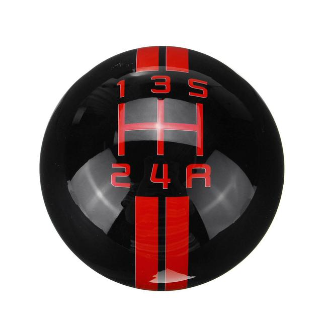 Universal Car 5 Speed Gear Shift Knob for Ford for Mustang Renault for Mercedes Car Gear Shift Knob Cover 5 Speed