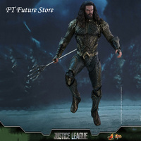 Collectible MMS447 Hot Toys 1/6 Scale Aquaman Jason Momoa 12 inches Full Set Action Figure Doll Model for Fans Collection Gift