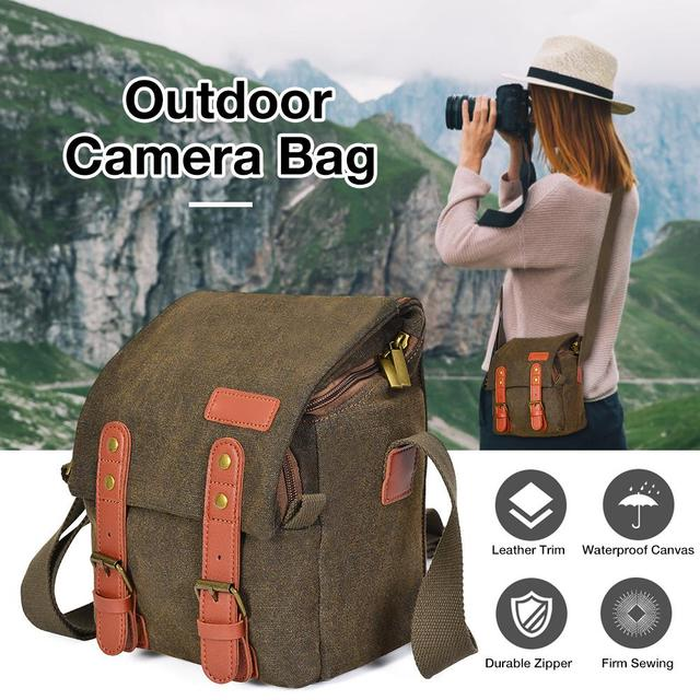 Sac appareil photo numérique Dslr SLR sac étanche antichoc étanche appareil photo stockage pour Nikon Canon Sony Olympus appareil photo conteneur