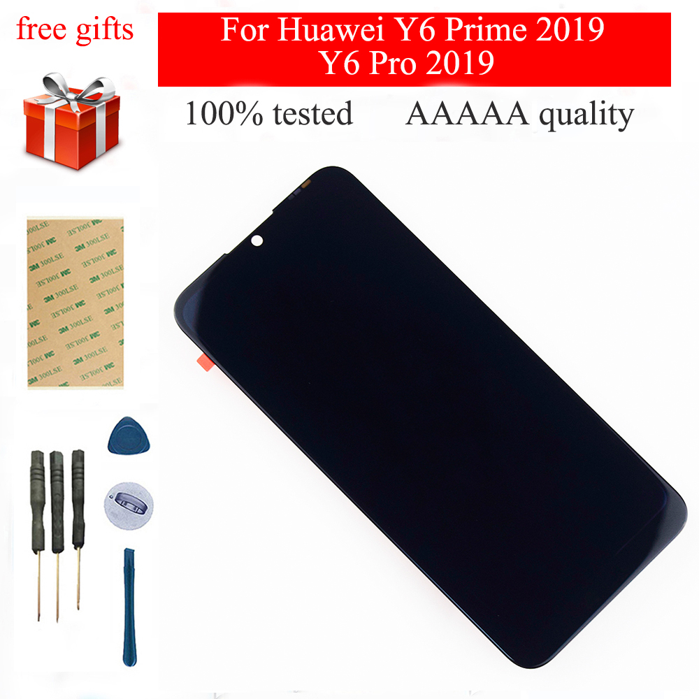 6.09'' For Huawei Y6 Prime 2019 Y6 Pro 2019 Y6 2019 MRD-LX1f LCD Display  LCD Touch Screen Digitizer Sensor Assembly Replacement