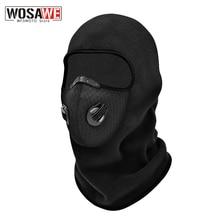Inverno da motocicleta rosto cheio máscara balaclava velo à prova de vento esqui motocross rosto escudo chapéu pescoço mais quente capacete máscara facial