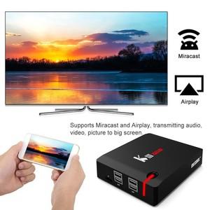 Image 3 - MECOOL KI Pro KII KIII Pro DVB T2 + S2 Androidกล่องทีวี 3G 16G Amlogic S912 DDR4 octa Core 4Kถอดรหัส 2.4G + 5GชุดTop Media Player