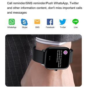 Image 2 - Senbono Sport I10 Smart Horloge Fitness Tracker Ondersteuning Hartslagmeter Armband Smartwatch Mannen Vrouwen Voor Bluetooth Ios Android
