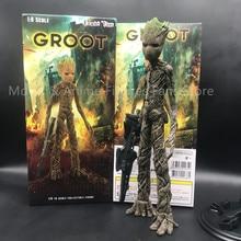 30 см новый фильм галактика Мстители герой дерево человек Фигурки ПВХ Статуя Коллекция игрушек подарки