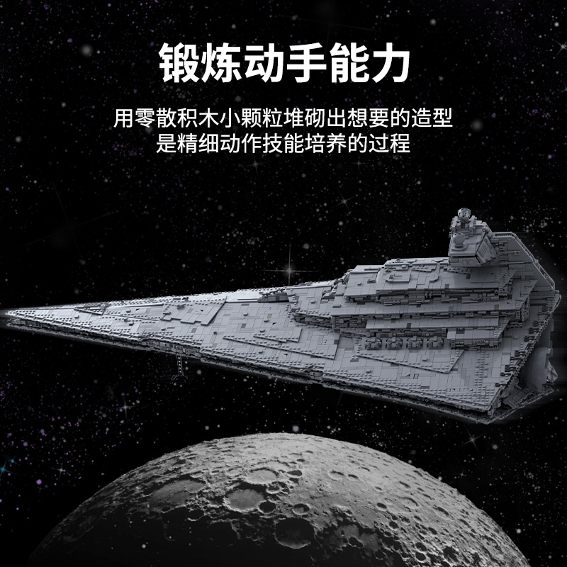 05027 Star Toys Wars The MOC-23556 Imperial Star Destroyer Compatible With Legoing 75252 Kids Christmas Gifts Building Blocks 4