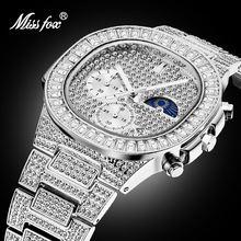 Часы missfox мужские водонепроницаемые брендовые трендовые с