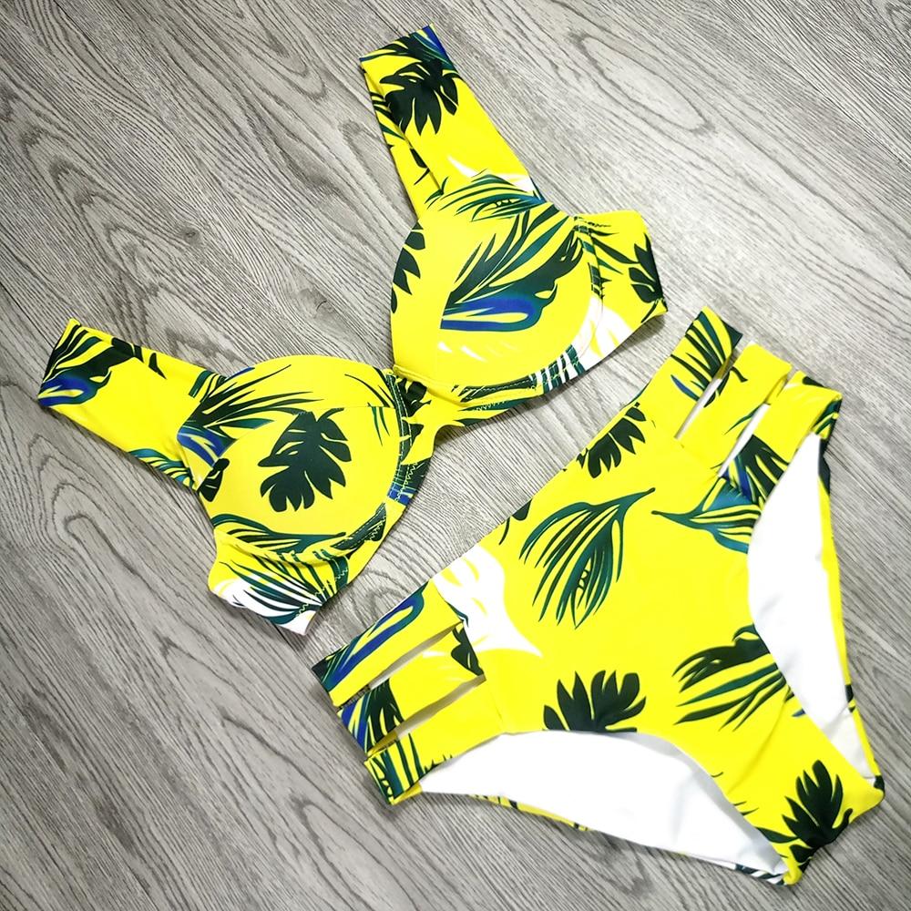 H57b90efc464c489f9d54c1ccdbb18f52Q Sexy Bikinis Women Swimsuit 2019 Summer Cut Out Bathing Suits Push Up Bikini Print Swimwear Beach Wear With Underwire Biquini