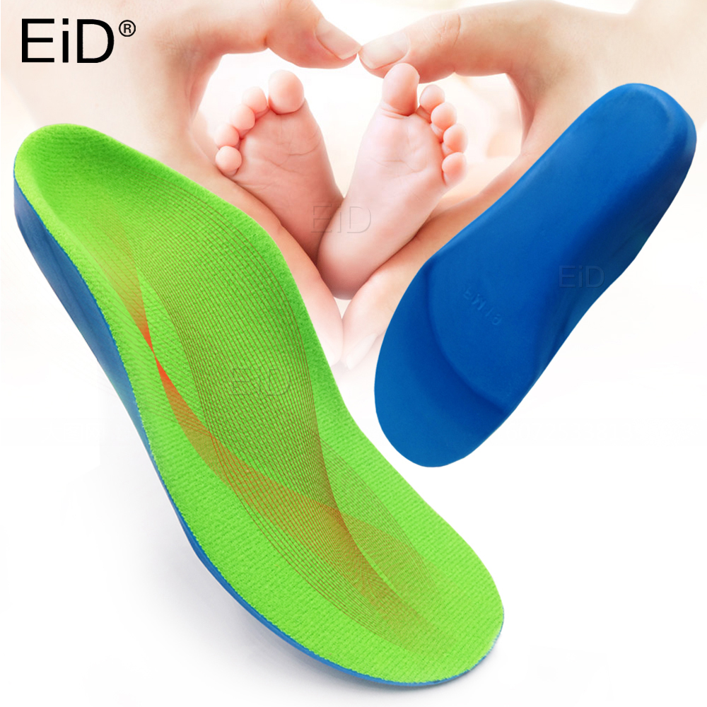 EiD 3D Orthotic Insoles Flat Feet For Kids And Children Arch Support Insole For XO-Legs Child Orthopedic Shoes Foot Care Insert
