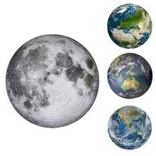 Rompecabezas de la tierra de la luna de 1000 piezas para adultos, juguetes educativos para niños, juego de fiesta, colaboración familiar, juguete, Dropshipping