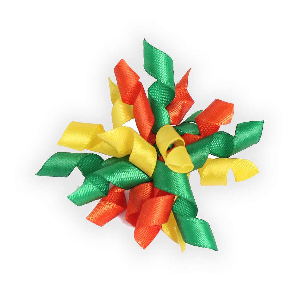 Bộ 50 Handmade Giáng Sinh Chó Cung Tên Mới Thiết Kế Vòng Tròn Nơ Cho Chó Cung Tên Thú Cưng 6025044 Phụ Kiện Bán Buôn