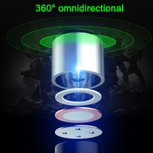 1pcs Wired Computer Microphone Dual Mic Gaming Omnidirectional for Desktop Professional OUJ99