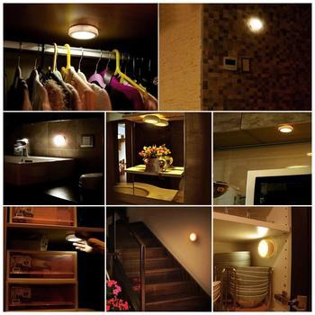 6 Stücke Led Licht Remote Gesteuert Schrank Licht 4000k Super Helle Schrank Lampe Küche Schlafzimmer LEDs Blitz Lichter Mit 3M Kleber