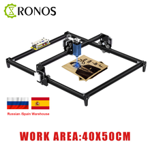 40*50cm Mini 2.5W/15W CNC Laser Engraving Machine 2Axis DIY Engraver Desktop Wood Router/Cutter/Printer + Laser Goggles