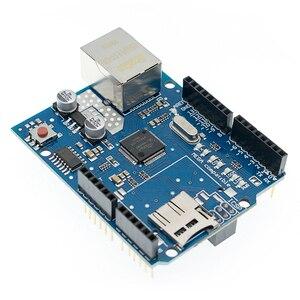 Image 5 - 10 pz/lotto UNO Shield Ethernet Shield W5100 R3 UNO Mega 2560 1280 328 UNR R3 <solo W5100 bordo di Sviluppo