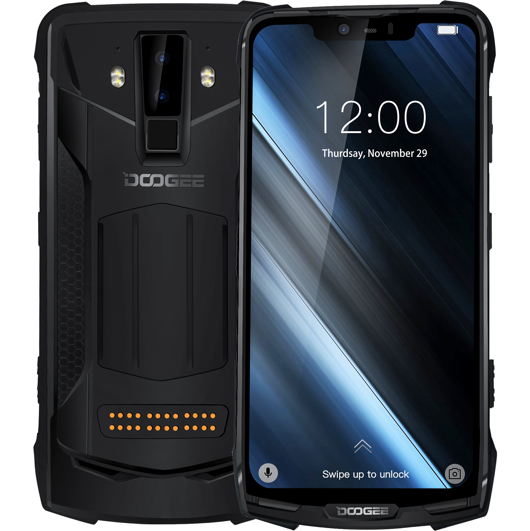 New DOOGEE S90C Modular Smartphone Helio P70 Octa core NFC 6.18 FHD+ Display IP68/IP69K 4GB 64GB 16MP Camera 4G Mobile Phone