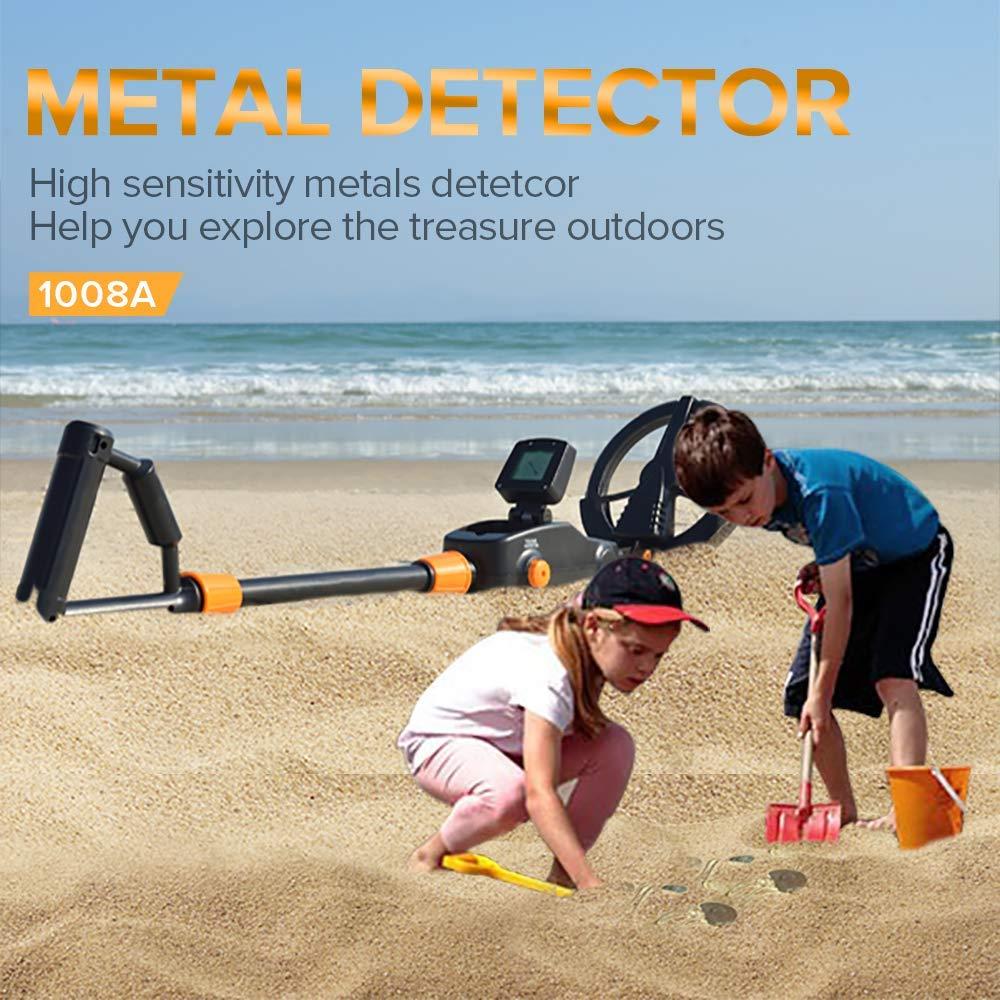 Detector de metales para niños, Detector de Best Metal de tallo ajustable ligero para niños, Detector de tesoros para niños, Detector de playa Sy-1 de 3 pulgadas TFT LCD HD, cámara Digital para puerta, timbre de ojo, detección de movimiento de puerta eléctrica, Visor de mirilla de 120 grados