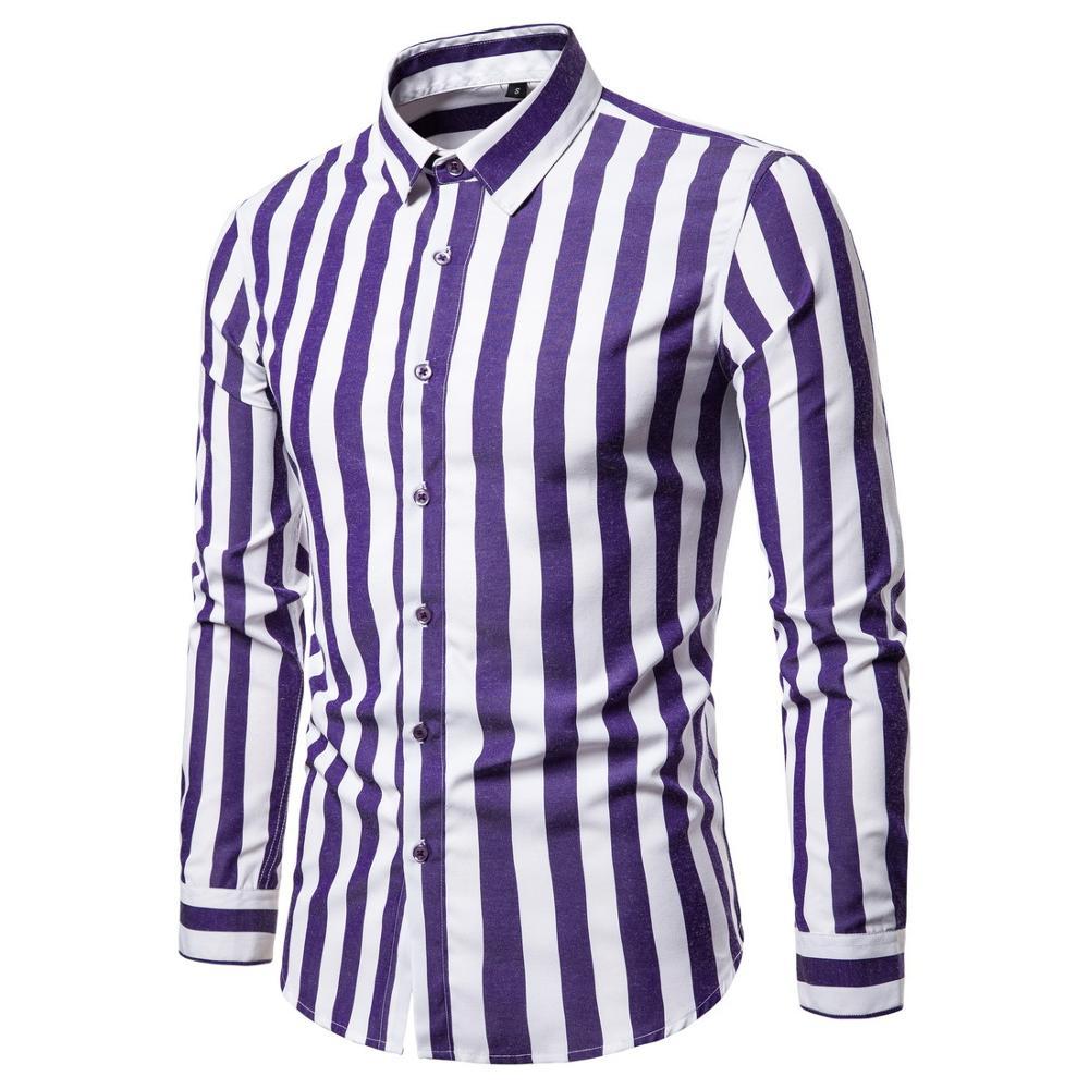 Men's cotton plaid shirt large size cotton long-sleeved casual young men's shirt