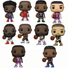 Funko pop nba basquete estrela michael jordan james harden stephen curry vinil figura de ação collectible modelo brinquedo para os fãs