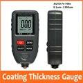 Толщиномер для покрытия автомобиля  измеритель толщины пленки для краски на автомобиле 0 1 микрон/0-1300