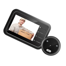 Doorbell Peephole-Camera Electronic-Video Digital Night-Vision Without Battery R11-B