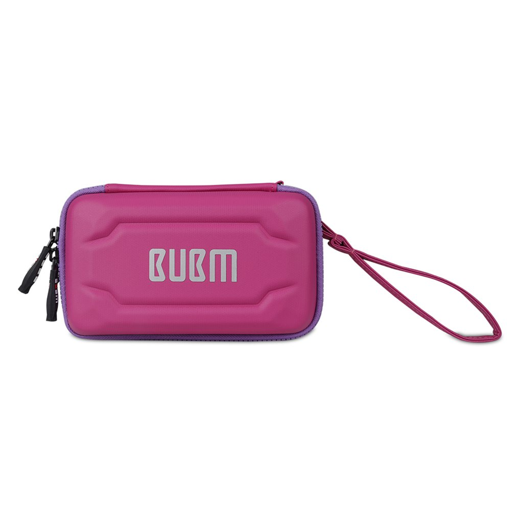 BUBM Cable Storage Bag Waterproof Hard Shell Portable Digital Organizer Electronics Protective Case for Charger Mobile Power