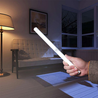 BRELONG LED eye protection learning lamp USB charging aluminum tube infrared human body induction lamp cabinet light night light