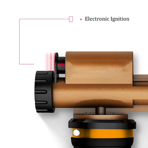Image 5 - HHO Electronic Ignition Liquefied Gas Welding Torch Kit with 3M Hose for Soldering Cooking Brazing Heating Lighting