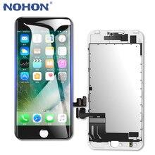 NOHON LCD 디스플레이 화면 교체 애플 아이폰 6 6S 7 8 플러스 3D 터치 디지타이저 어셈블리 프레임 AAAA 전화 LCDs 패널