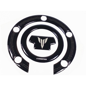 Image 4 - New Sale 3D Gel Motorcycle Fuel Tank Cap Fuel Tank Sticker Stable Decal Combination For YAMAHA MT 07 MT07 mt07