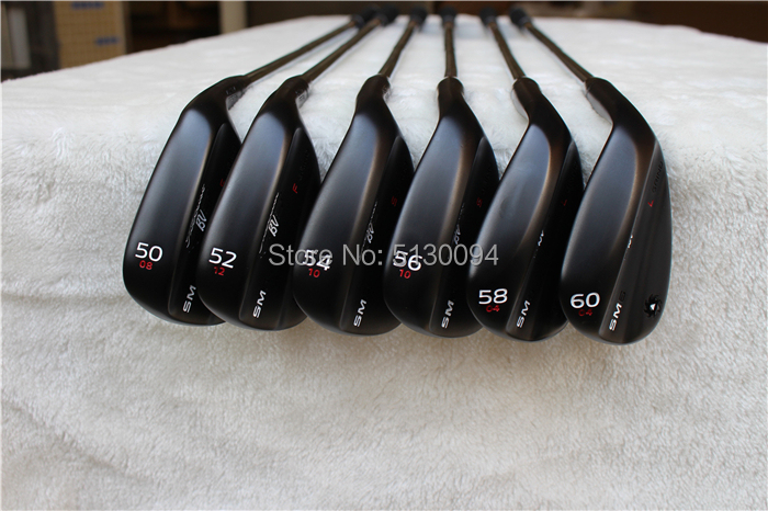 SM6 Wedges Vokey Design  Sm6Golf Clubs  Sand Lob Wedge 50/52/54/56/58/60 Degrees Steel Shaft S200 With Head Cover Putter Irons