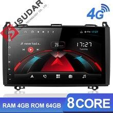 Isudar H53 androidの自動ラジオメルセデス/ベンツ/スプリンター/W169/B200/bクラス 4 グラム 1 ディンgpsカーマルチメディアusb dvrカメラ 8 コアips