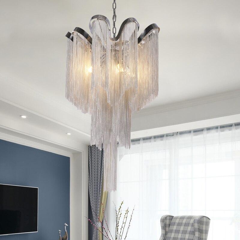 現代の Led シャンデリア装飾ホーム照明器具ディナーパーティー天井ランプ lustres デサラデ金属ランプ結婚式のシャンデリア  グループ上の ライト & 照明 からの シャンデリア の中 3