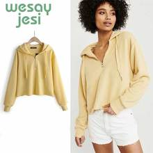 Autumn sweatshirt women high street Hooded Tops oversize style full-sleeve hoodies pullovers casual tops