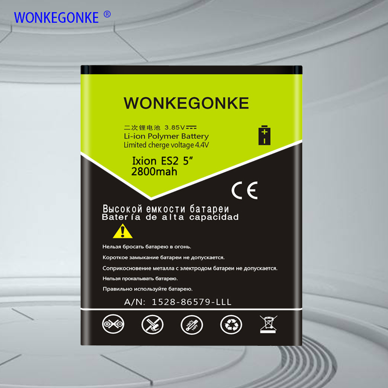 WONKEGONKE for DEXP Ixion ES2 5 Battery High quality mobile phone battery with tracking number 1 order image