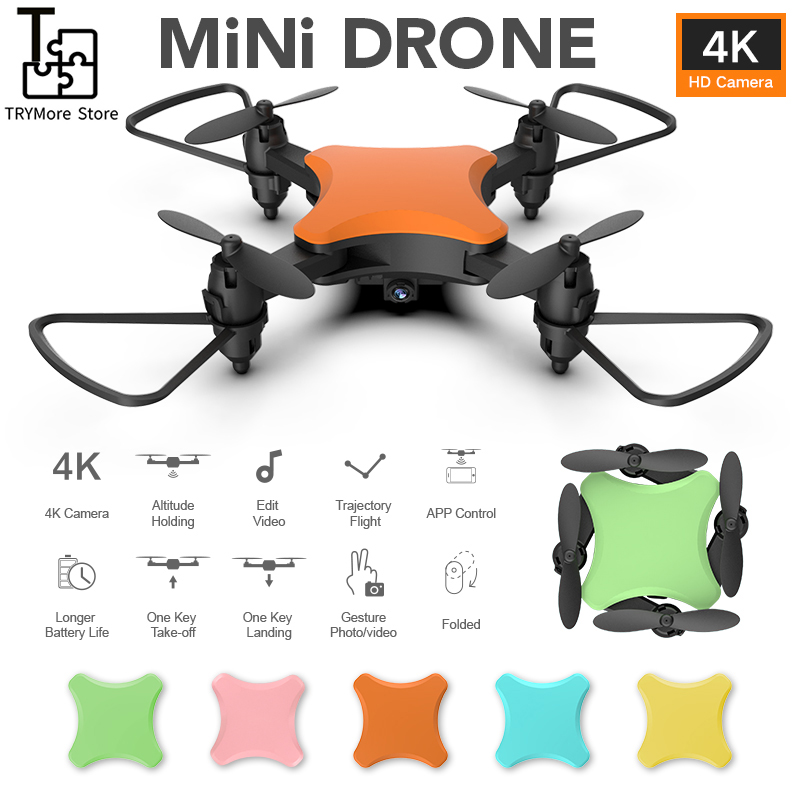 New Mini Color Ky902s Drone With 4k Hd Aerial Folding Uav Long Endurance Rc Quadcopter Gift For Children Vs E58 E520s Lf609