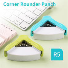 KW-trio Corner Rounder Punch R5 5mm Border Punch Round Corner Paper Cutter Card Scrapbooking for DIY Handmade Crafts 9Z194