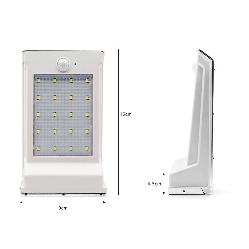 20LEDs Replaceable Battery Wall Lamp (14)