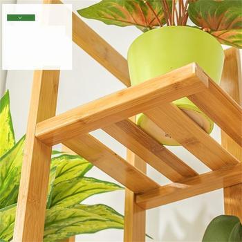 Étagères En Bois Mueble D'intérieur D'escalera Pour L'estanteria De Jardin Para Plantas Décoration Extérieure Balcon étagère De Fleur Support De Plante
