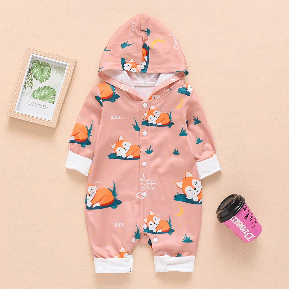 CYSINCOS Newborn Baby Clothes Cotton Long Sleeve Spring Autumn Baby   Rompers   Soft Infant Clothing Toddler Baby Boy Girl Jumpsuits