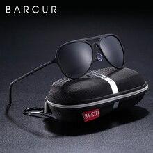BARCUR Aluminium Ultralight Pilot Sunglasses Men Polarized Driving Women Sun