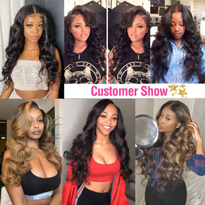 Image 5 - 13x4 Lace Front Human Hair Wigs Brazilian Body Wave Lace Wig With Baby Hair Glueless Beaudiva Remy Human Hair Lace Closure Wigs