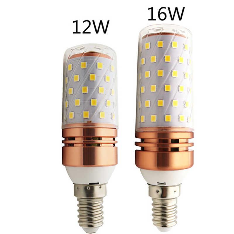 E14 E27 12W 16W LED ampoule de maïs 220V SMD2835 LED ampoule 3 températures de couleur intégré LED s bougie lumière projecteur